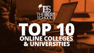 Top 10 Online Colleges & Universities from TheBestSchools.org