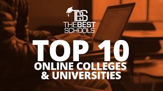 Top 10 Online Colleges & Universities from TheBestSchools.org