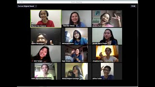 Online Class via Zoom: (use of videos, whiteboard, and Zoom Breakout Rooms)