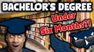 HOW TO GET A DEGREE IN 6 MONTHS | (WGU Bachelor's or Master's)
