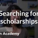 Searching for scholarships