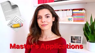 Applying for a Master's Degree // Advice, Rejection, Personal Statements