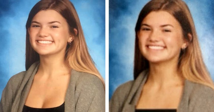 Yearbook Photos of Girls Were Altered to Hide More of Their Chests