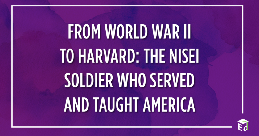 From World War II to Harvard: the Nisei Soldier who served and taught America
