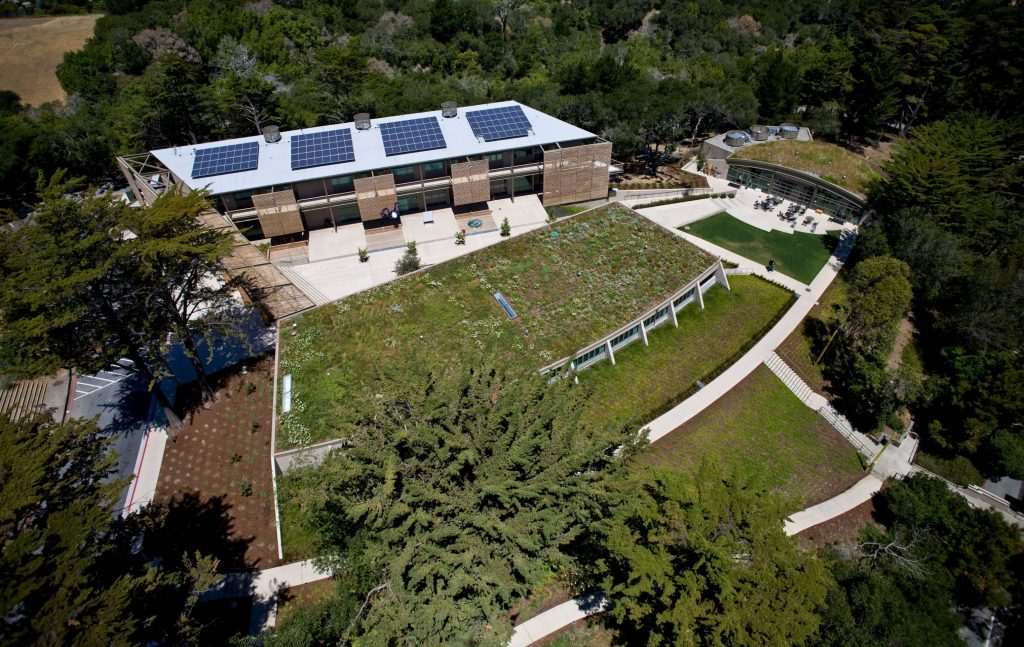 The Nueva School's Hillside Learning Complex was the first LEED Gold K-12 building in the country and the winner of the 2008 American Institute of Architects Award for School Design and Sustainability.