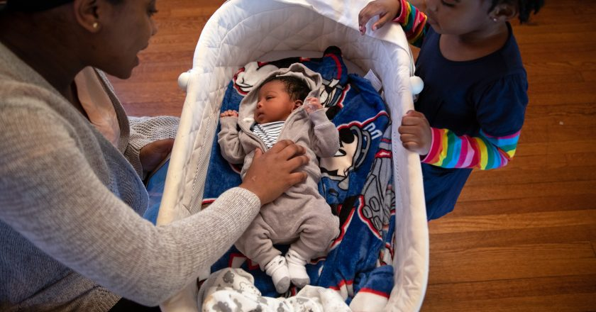 The pandemic hit moms hard, and that stress can trickle down to kids
