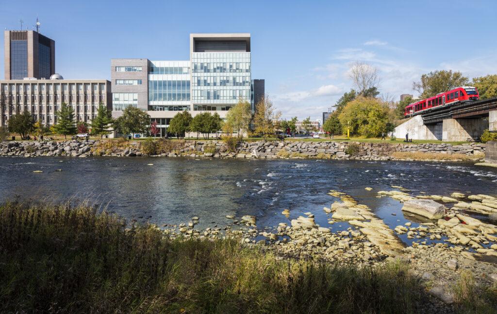 Carleton University Rideau Canal View