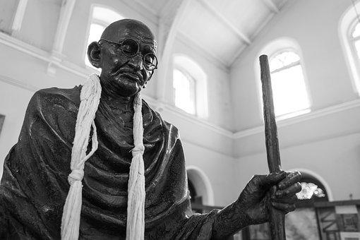 Gandhi, Aga Khan Palace, Pune