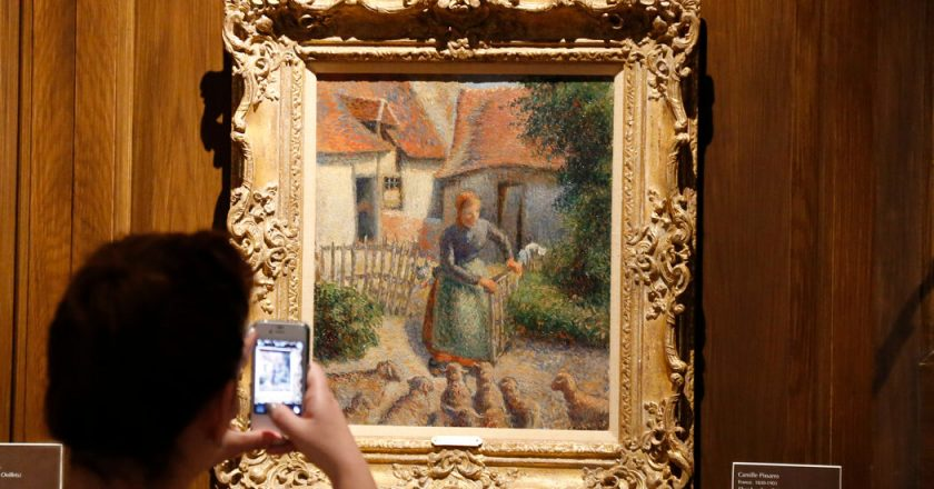 French Heir Gives Pissarro Stolen by the Nazis to University of Oklahoma